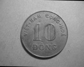 1964 Vietnam 10 Dong Coin W178 Fine Condition