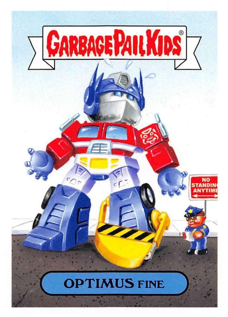 5e6f50971e1 Topps Garbage Pail Kids  We Hate The  80s - Cartoons   Celebrities Singles