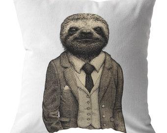b87ade6072f Sloth Pillow Throw Pillows Sloth Gift Home Decor Sloth Throw Pillow Animal  Pillow Home Decor Kids Pillow Decorative Pillows Kids Room Decor