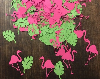 100 Piece Party Confetti, Part Decoration, Pink and Green