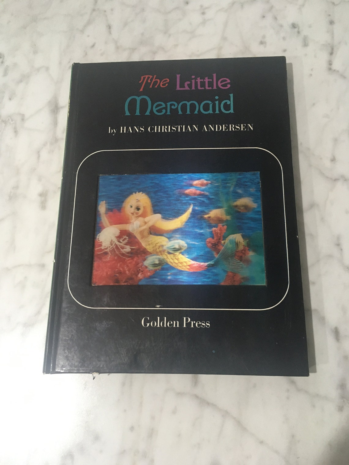 1966 Vintage Book THE LITTLE MERMAID Hans Christian Andersen image 0