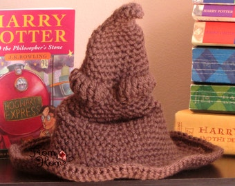 The Magical House Choosing Hat - Baby, Child, Adult - Crochet, Handmade, Made to Order