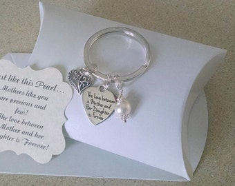 Gift For Mom From Daughter Son Birthday Mother Of Bride Groom Charm Size A Nickle