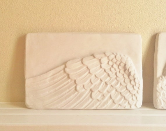 Angel Wings, wall hanging wings, memorial plaque, in memoriam, rest in peace, angel gift, winged plaques