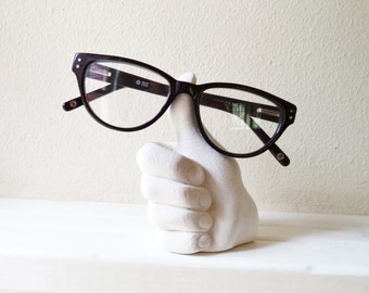 Thumbs up, desk accessory, holder for glasses, job well done, Texas A&M, Aggies, funky nerdy geek gift, teachers gift, paperweight