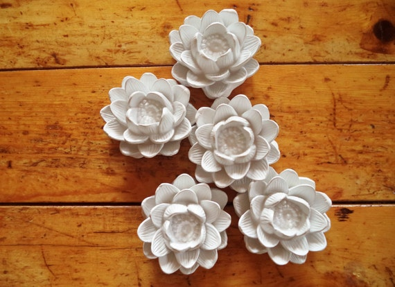 Wedding party gifts, Lotus flower ring dish, bridesmaids gifts, bridal party, floral wedding gift, Lotus gift