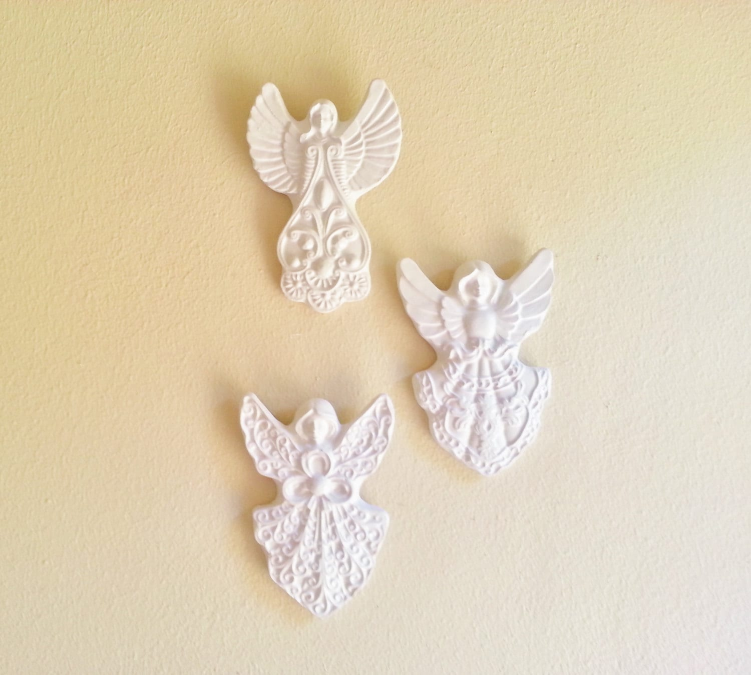 Angel Wall Sculptures Angel Wall Decor Victorian Inspired Angels