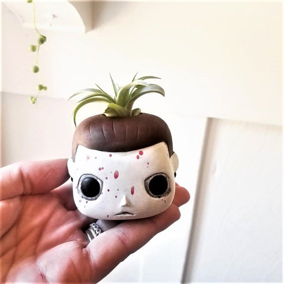 Michael Myers, Halloween, Funko Pop inspired air plant holder, Halloween, Horror movies, classic horror