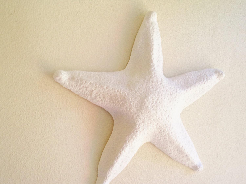 Large Starfish Wall Hanging Sculpture Large Sea Shell Beach Decor
