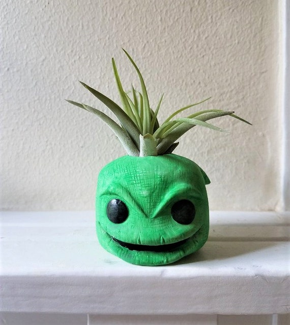 Oogie Boogie inspired air plant holder, air plant gift set, villain, dorm decor, back to school gift