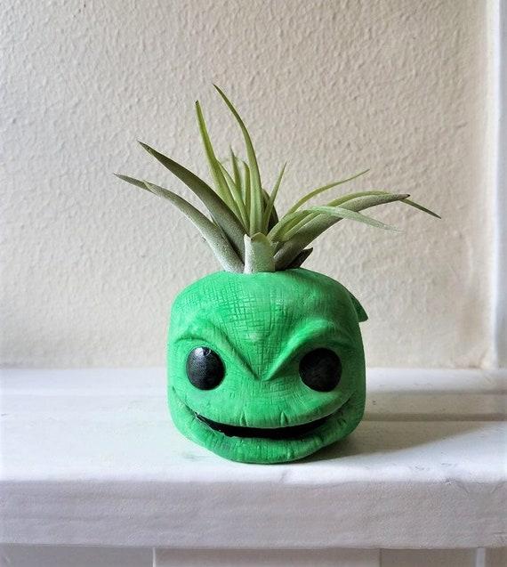 Oogie Boogie gift, air plant gift set, villain, desk planter, nightmare gift