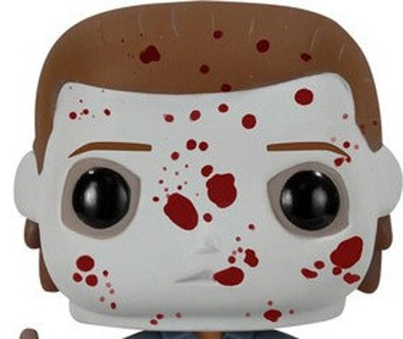 PRE- ORDER, Michael Myers Halloween Funko Pop inspired air plant holder, Horror movies, classic horror