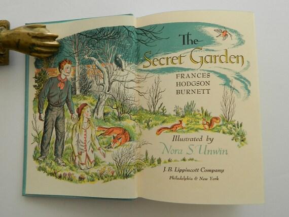 The Secret Garden by Frances Hodgson Burnett. Rare illustrated | Etsy