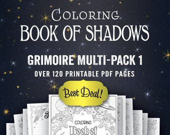 Basic bos sheets 131 pages pdf format book of shadows grimoire multi pack i printable book of shadows pages pdf fandeluxe Gallery