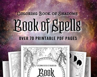 Coloring Book of Shadows: Book of Spells PDF