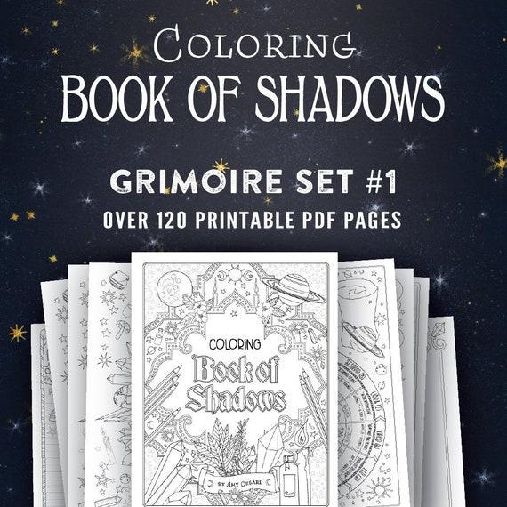 Agile image with printable book of shadows