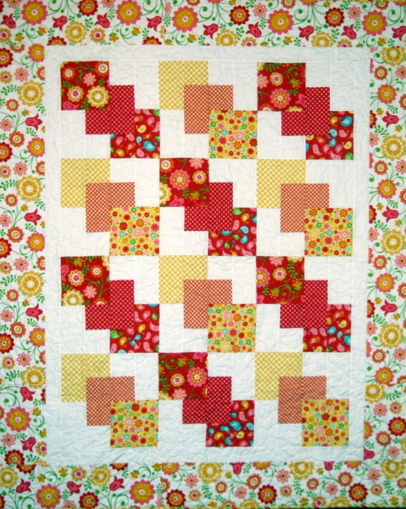 Bounty  PDF Quilt Pattern  Uncle Paul's Quilting Company image 0