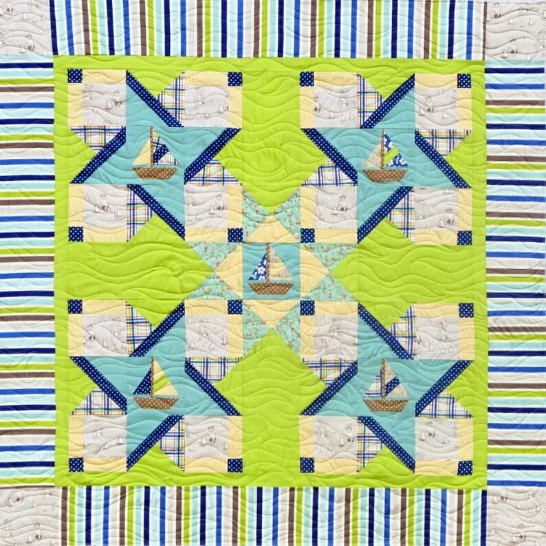 Sailor's Delight   Quilt Pattern image 0