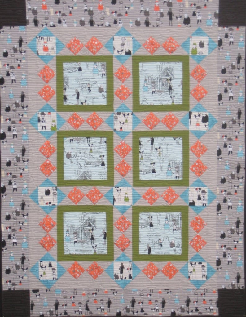 Serendipity  Quilt Pattern image 0