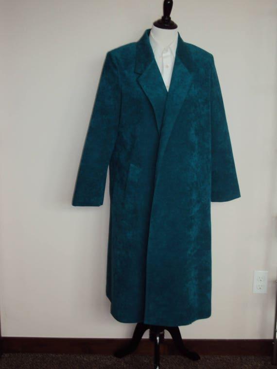 1980s Womens Emerald/Jade Green Ultrasuede Lilli A