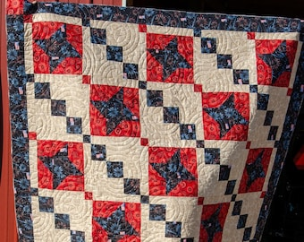 Under the Starry Sky Quilt Pattern by Quiltygirl ( aka Mystery A11)