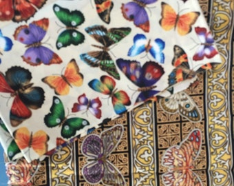Butterfly 100% Cotton Quilting Fabric