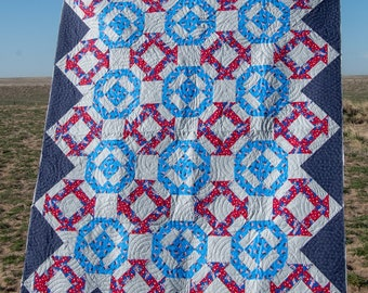 Dakota Inspired ( A12) a Digital Quilt Pattern from Quiltygirl