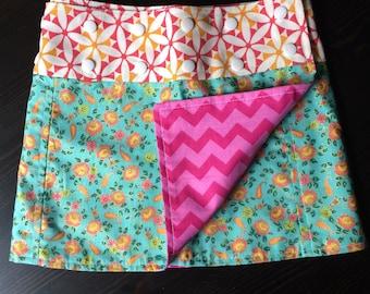 Li'l Skirts Girls' Imogene Skirt Adjustable Wrap Skirt