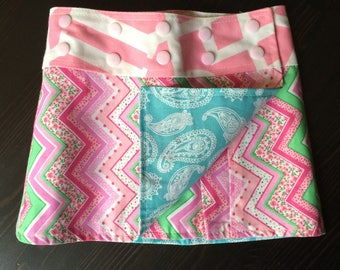 Li'l Skirts Toddler Penney Skirt Reversible And Adjustable Wrap Skirt