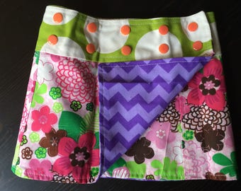 Li'l Skirts Toddler Stella Skirt Reversible And Adjustable Wrap Skirt