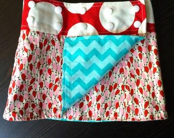 Li'l Skirts Toddler Maia Skirt Reversible Wrap Skirt