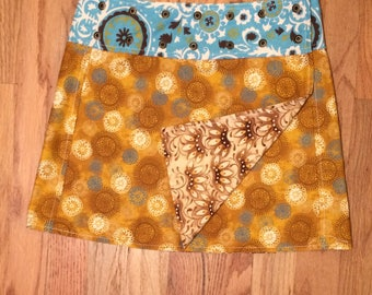 Li'l Skirts™ Extra-Small Becky Skirt Reversible Wrap Skirt Ladies Extra-Small With Phone Pocket Adjustable size 7-12 Juniors