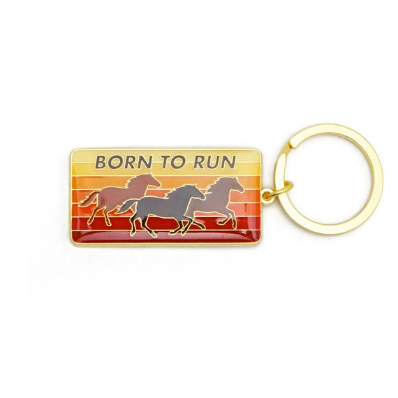 Bruce Springsteen Keyring Keychain Born in the USA new Official metal Size One