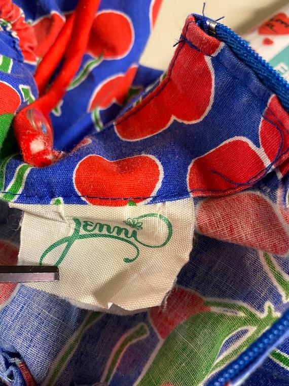 Vintage jenni cherries dress size 5/6 rockabilly - image 5