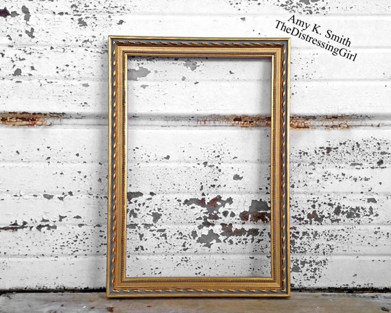 12x18 Metallic Gold Frame One 18 By 12 Gold Picture Frame 12 X Etsy