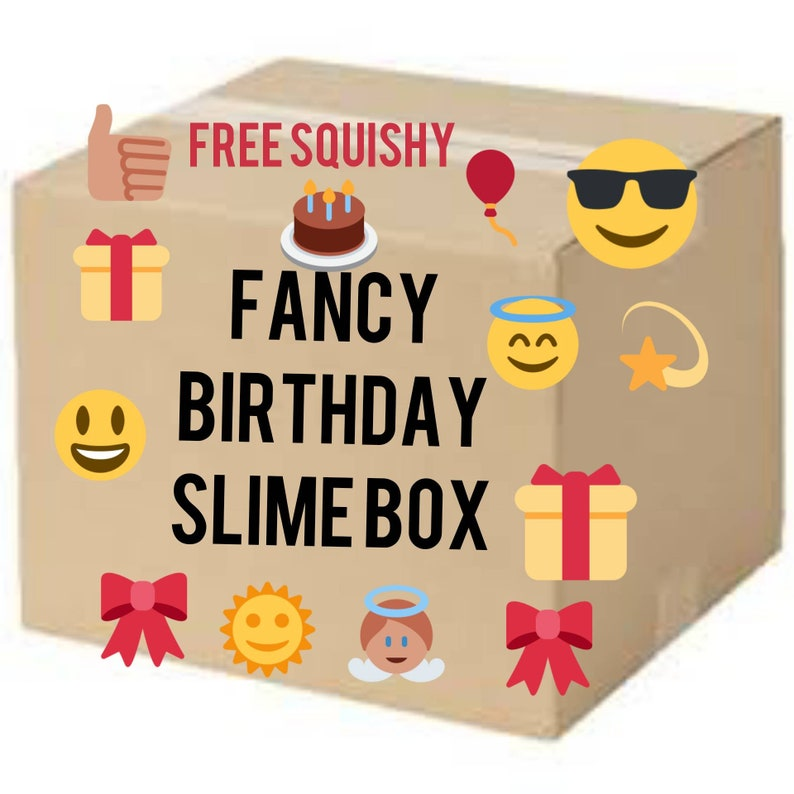 SLIME, FREE Squishy included, mystery slime box, slime gifts, birthday  slime, the best slime, new slimes, slime shops