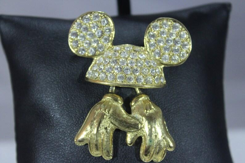 450c3344c54c98 Disney oryginalny Myszka Mickey Hands/rękawice szpilki z | Etsy
