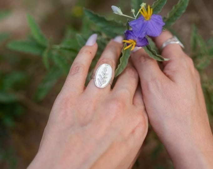 Colorado Evergreen Sterling Silver Ring size 7