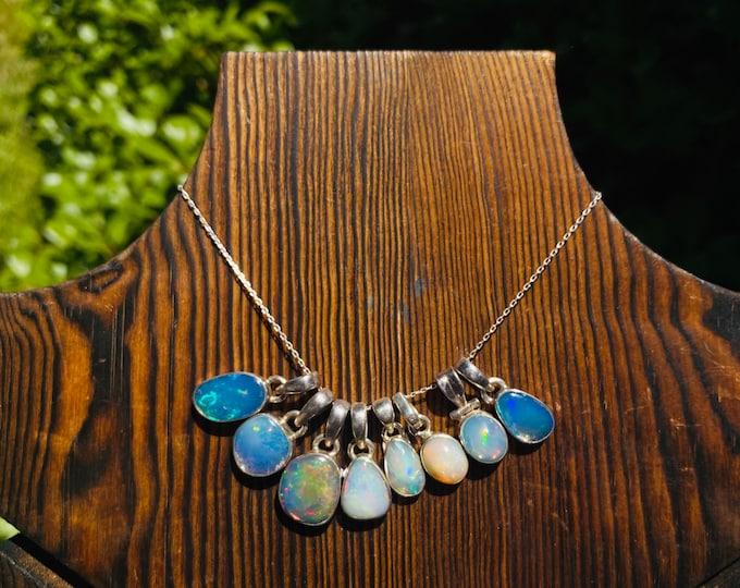 Light my Fire • Opal Pendants 925 sterling silver