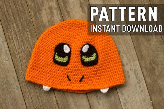 First Generation Starter Pokemon Inspired Crochet Pattern Pack