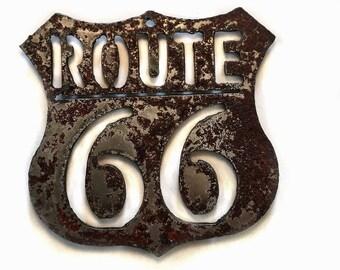 Magnet Route 66 Steel Tsalagi Cherokee Made
