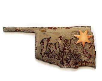 Magnet Cherokee Star Oklahoma  Tsalagi Cherokee Made