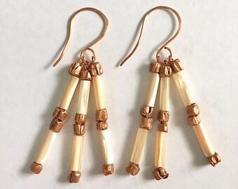 Contentment Earrings Tsalagi Cherokee Made