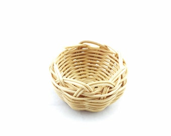 Basket Woven Mini Cherokee Made Basket-One Tsalagi