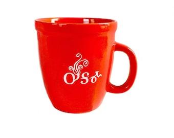 Mug Soup Oo-ga-ma Red Tsalagi Cherokee Designed