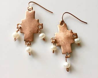 Morning Star Earrings Tsalagi Cherokee Made