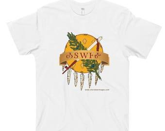 Oklahoma in Cherokee T-Shirt Tsalagi Cherokee Designed