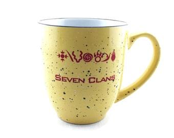 Mug Seven Clans Tsalagi Cherokee Designed