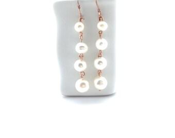 Freshwater Pearl Earrings Tsalagi Cherokee Made