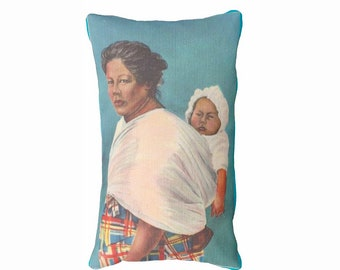 Pillow Lumber Cherokee Mother Tsalagi Cherokee Designed